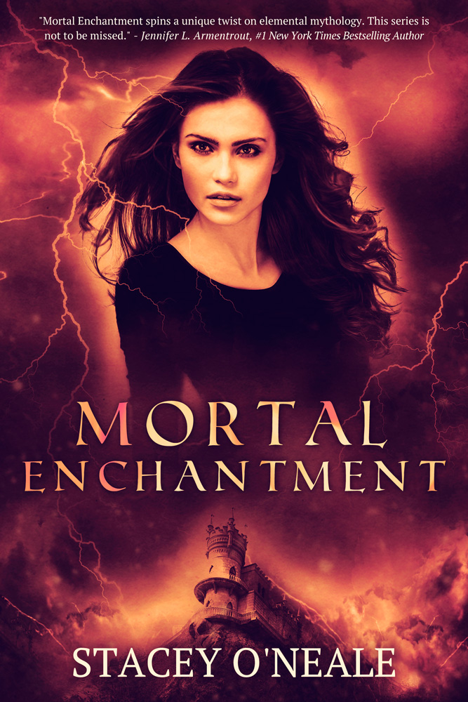 Cover Reveal: Mortal Enchantment by Stacey O'Neale