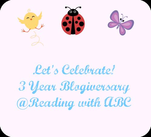 Reading with ABC's Three Year Blogiversary!