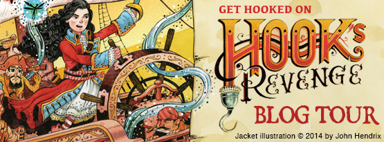 Blog Tour, Guest Post and Giveaway: Hook's Revenge by Heidi Schulz