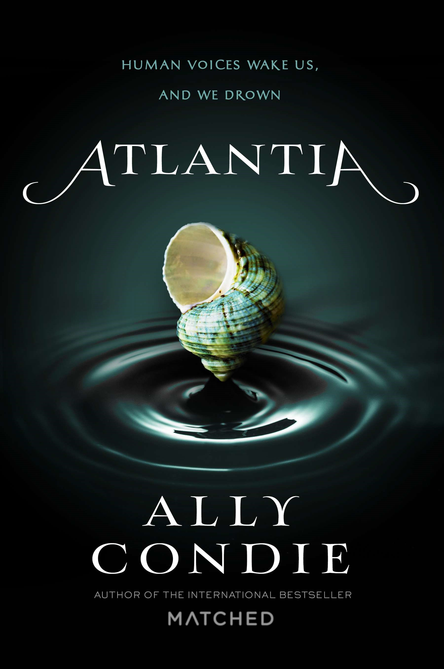 Blog Tour, Review and Giveaway: Atlantia by Ally Condie