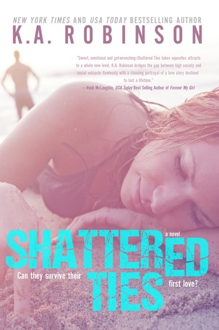 Audio Review: Shattered Ties by K. A. Robinson