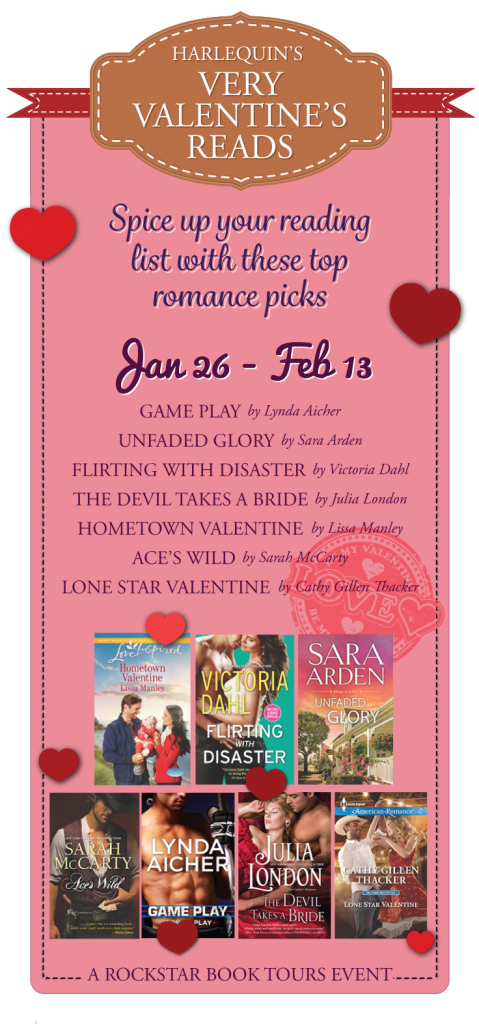 Harlequin's Very Valentine's Reads {Blog Tour, Interview and Giveaway} Featuring Julia London