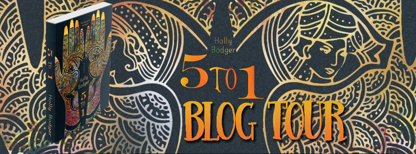 Blog Tour   Interview   Giveaway {5 to 1 by Holly Bodger}