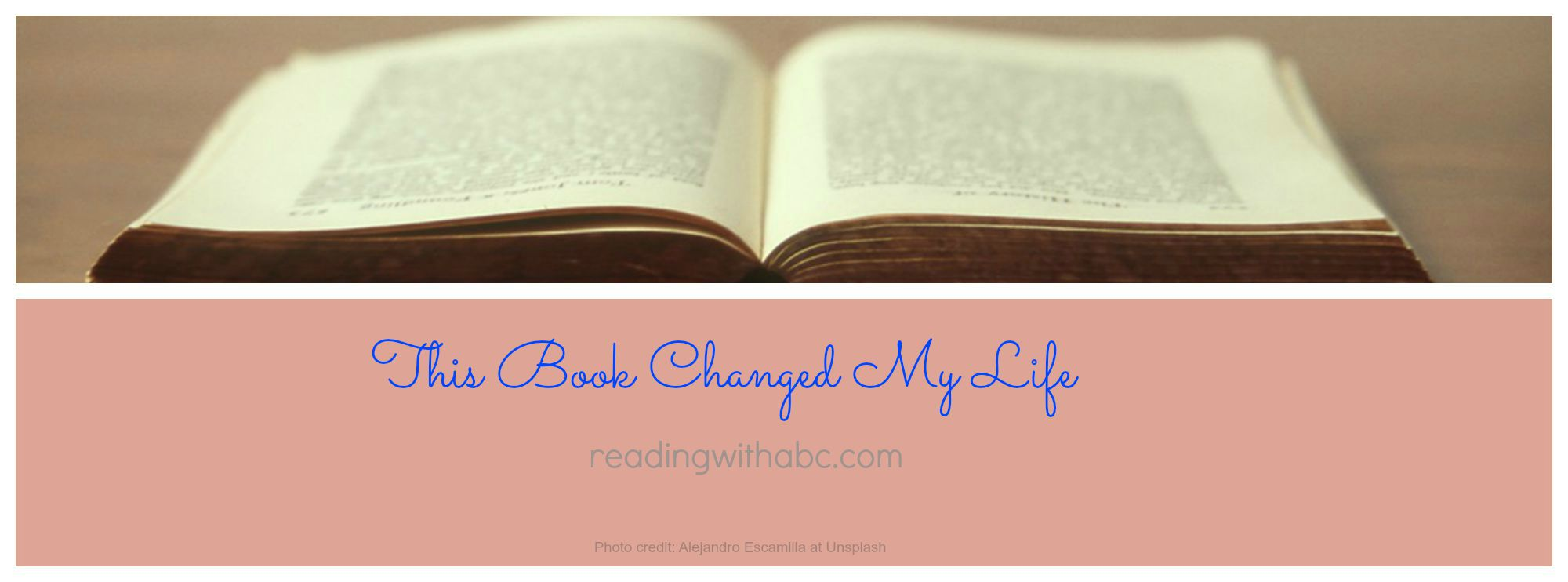 "Reading Change Life ""this Book Changed my Life"" is"