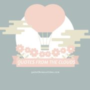 {Quotes from the Clouds} Friendship