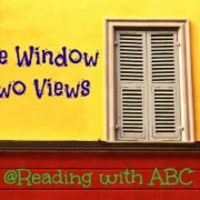 One Window Two Views {How Blogging Changed the Way We Read}