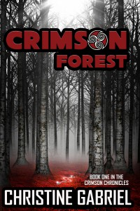 Promotion for Crimson Forest by Christine Gabriel