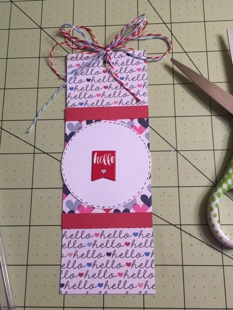 hello bookmark give