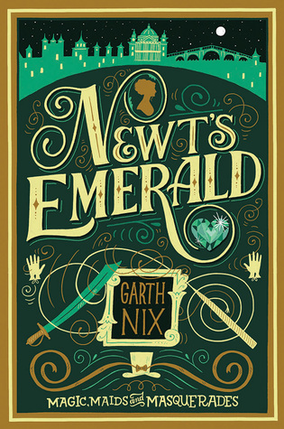 Jennifer Reviews {Newt's Emerald by Garth Nix}