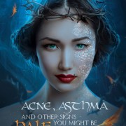 {Bieke Reviews} Acne, Asthma & other Signs You Might Be Half Dragon by Rena Rocford