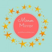 {Mirror Mirror} Pretty Books, A New WIP, Gorgeous Singing And I FOUND A JOB!