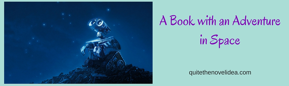 A Book with an Adventure in Space