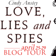 {Blog Tour + Review + Giveaway} Love, Lies and Spies by Cindy Anstey