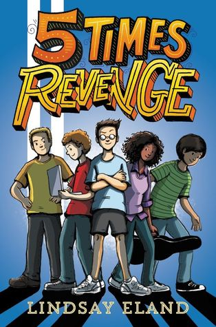 {Bee's Reviews} Five Times Revenge by Lindsay Eland ~ Could've Been SO Much More