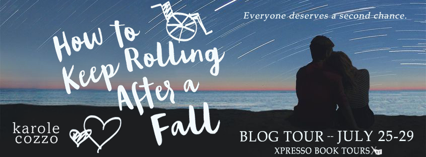 {Blog Tour} How To Keep Rolling After a Fall by Karole Cozzo
