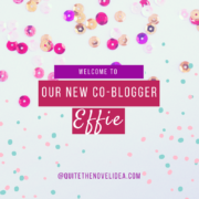 Meet Our New Co-blogger! Introducing Steph aka Effie!