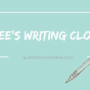 {Bee's Writing Cloud} Bee Does The #Writerslife Tag Because Why Not?