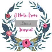 {A Note from Liza's Journal}