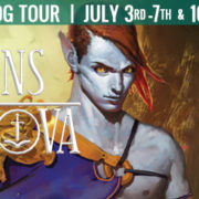 {Blog Tour, Interview and Giveaway} The Dragons of Nova by Elise Kova