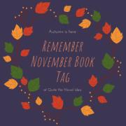 Remember November Book Tag